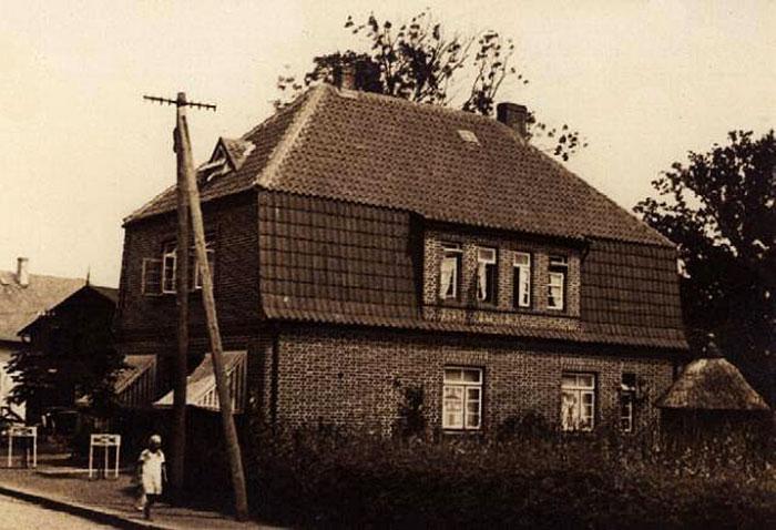 Lebensmittelladen Meyer in den 30er Jahren