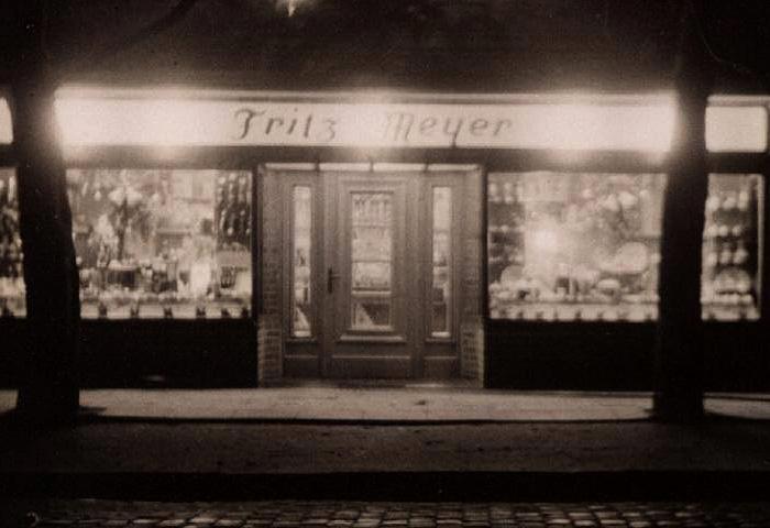 Lebensmittelladen Meyer in den 50er Jahren