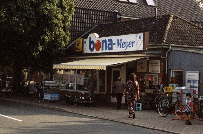 Bona Meyer in den 70er Jahren