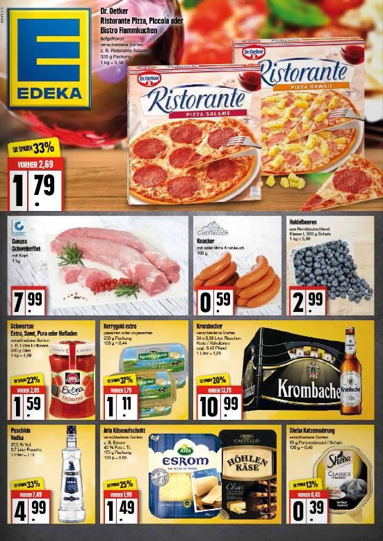 Aktuelle Angebote bei EDEKA