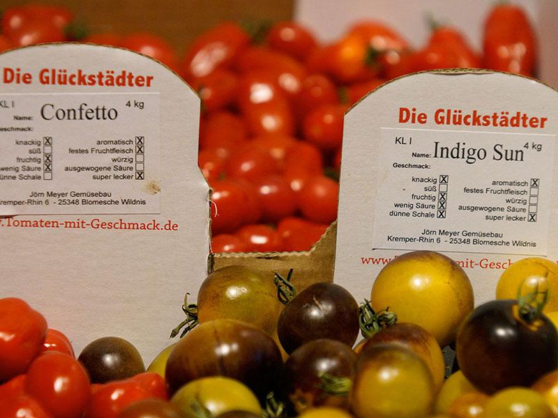 Unsere Glückstädter Tomaten