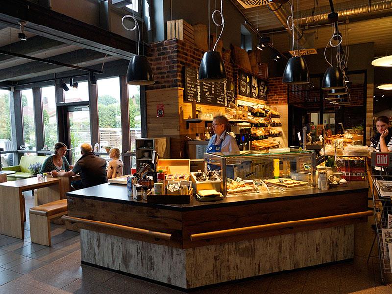 Café und Bäckerei
